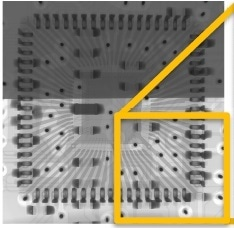 Fluoroscopic image of IC part.