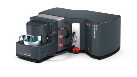 Laser Particle Sizer ANALYSETT 22 NeXT with ultrasonic box.