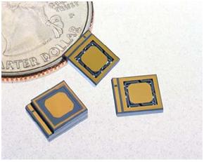 MEMS accelerometer die from Applied MEMS