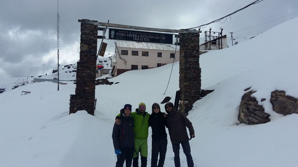 Dr Bianchi's deployments of the API-TOF to the mountain tops in Nepal and Europe