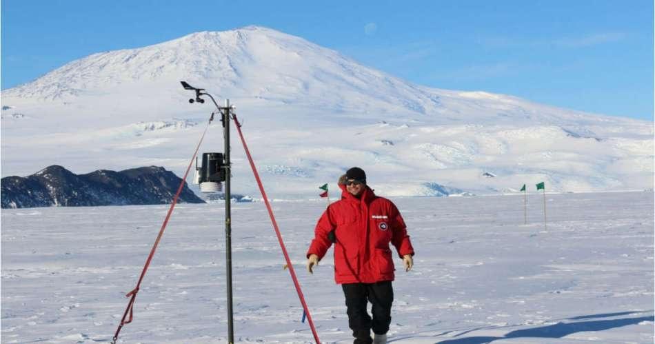 Tofwerk's instruments in Antarctica in late 2014.
