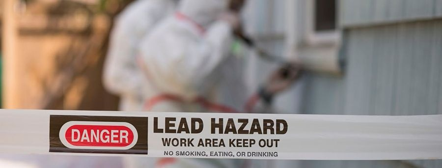 Industrial Lead-Based Paint Testing Performed by Handheld XRF Analyzer...