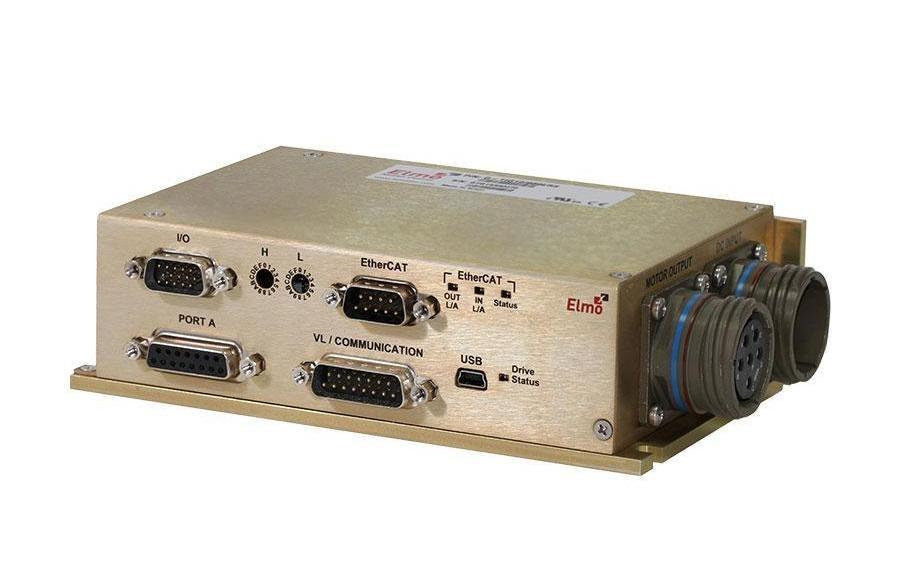 Compact high-voltage servo drive