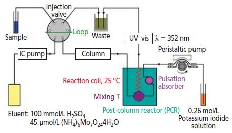 Schematic illustration of the IC system.
