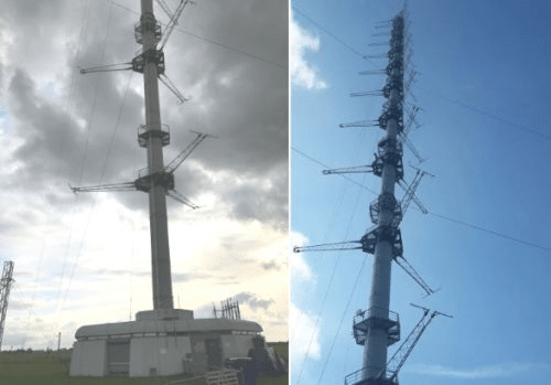 The ACTRIS campaign took place at the CESAR observatory in the Netherlands. 12 PTR-MS measured VOCs in ambient air for two weeks, sampling from a shared 10-meter sampling line.