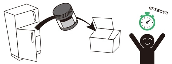 Solder mounting technology illustration.