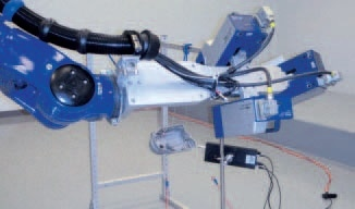 Measurement of the gearbox cover with RoboVib®.
