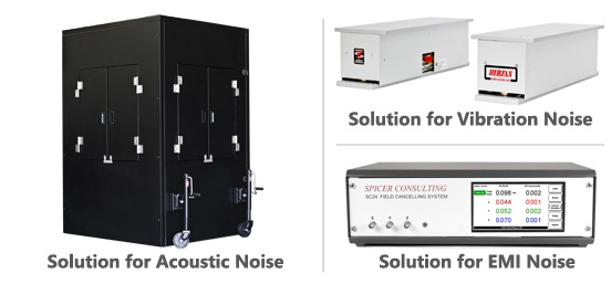 Figure 3: Vibration, Acoustic, and EMI Isolation Solutions for SEMs/TEMs
