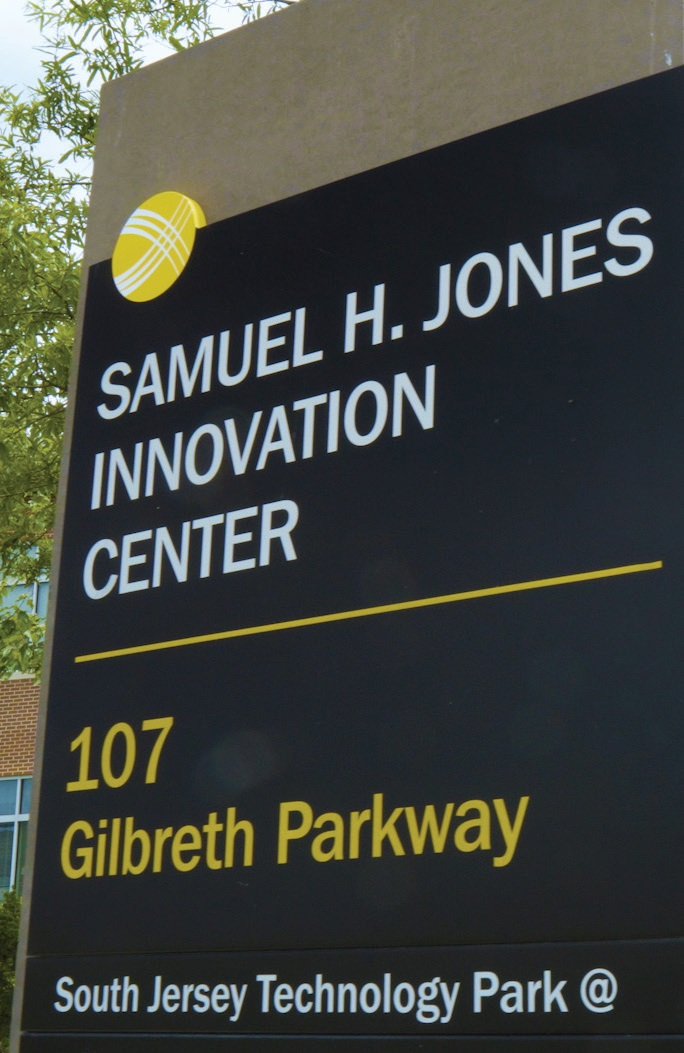 Samuel H. Jones Innovation Center located at the South Jersey Technology Park (West Campus) at Rowan University.