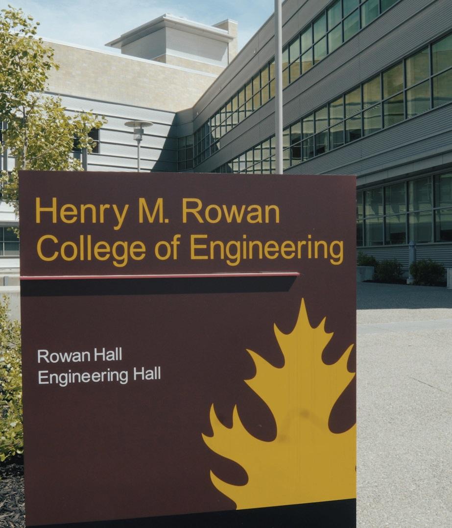 The Henry M. Rowan College of Engineering buildings at Rowan University