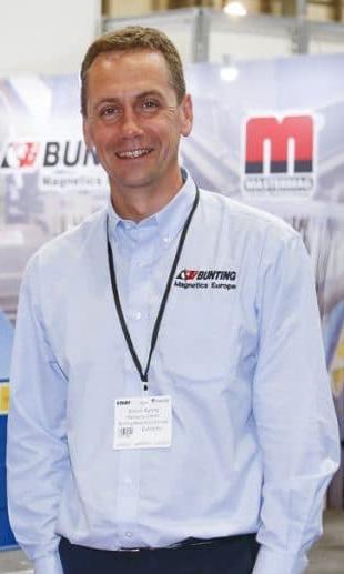 Simon Ayling, European Managing Director, Bunting