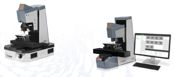 QNESS Q10/30/60 and Q150 A and A+ hardness testers.
