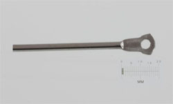 Disposable endoscopy forceps stainless steel drive wire cam actuator.
