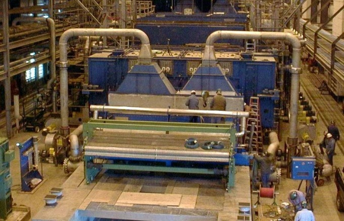 Harper International 4 meter wide Pitch Thermal Processing 'Pilot' Plant.