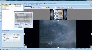 "Screenshot of inserting a survey scan using the ""Multispectrum insert"" tool."