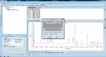 "Screenshot of using the ""multispectrum"" tool to insert region scans."