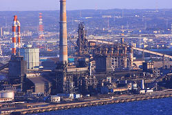 Steel Plant Image.