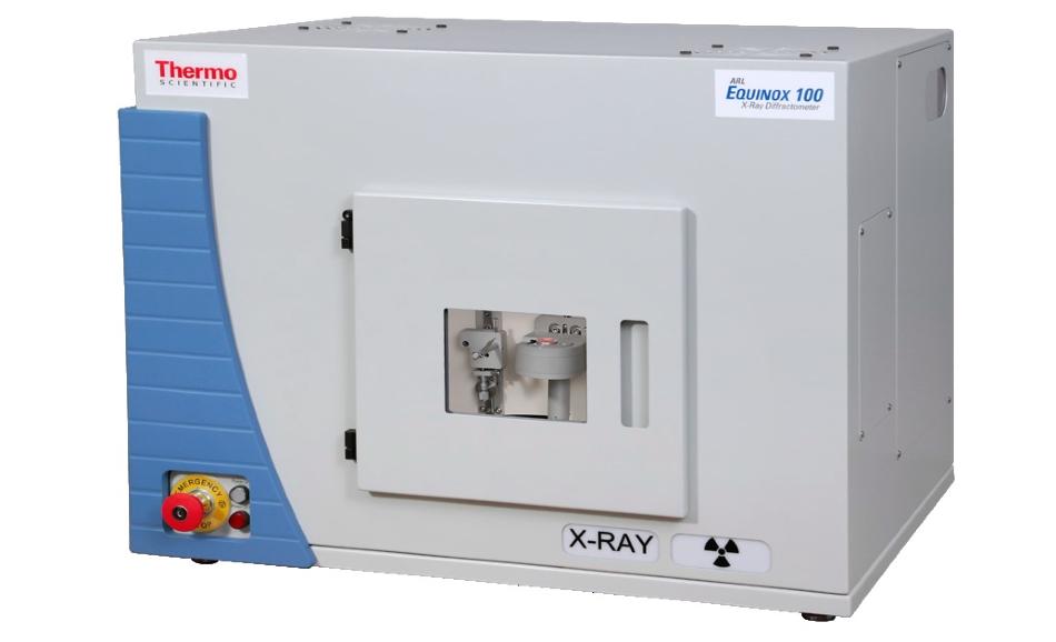 ARL EQUINOX 100 diffraction system.
