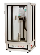 The GranuPack, a high resolution tapped density analyzer.