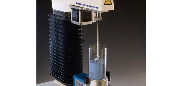 Powder Flow Analyser for the measurement of powder flowability.