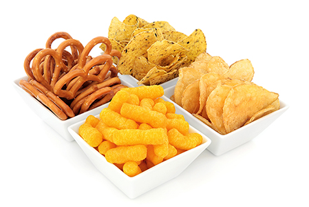 Oil and Moisture Measurement in Snack Foods with NIR