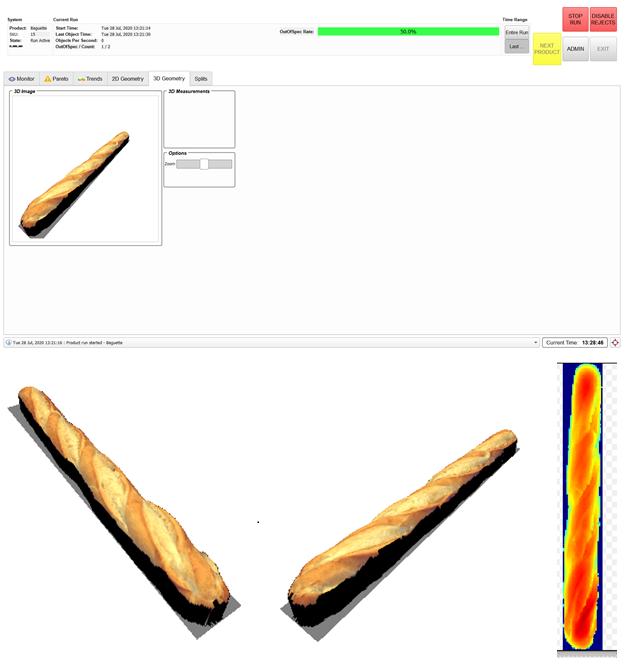 3D Height Analysis.