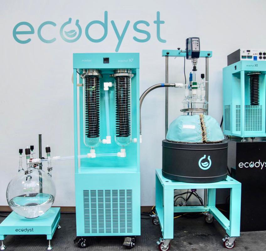 Ecodyst's rotary evaporators