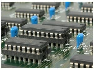Powder-coated electronic components