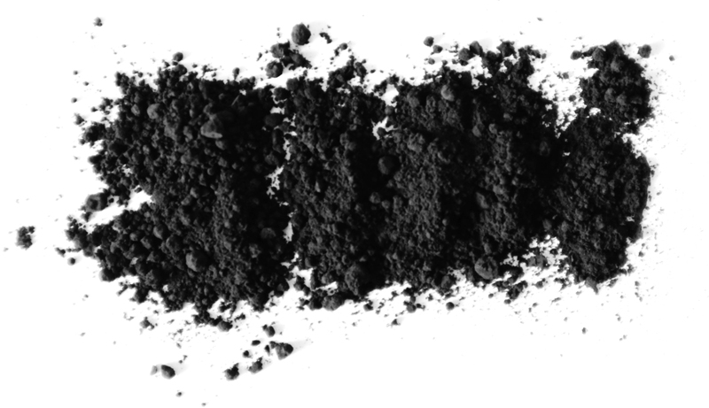 Carbon blackis not a suitable sample to be measured by NIR technology.
