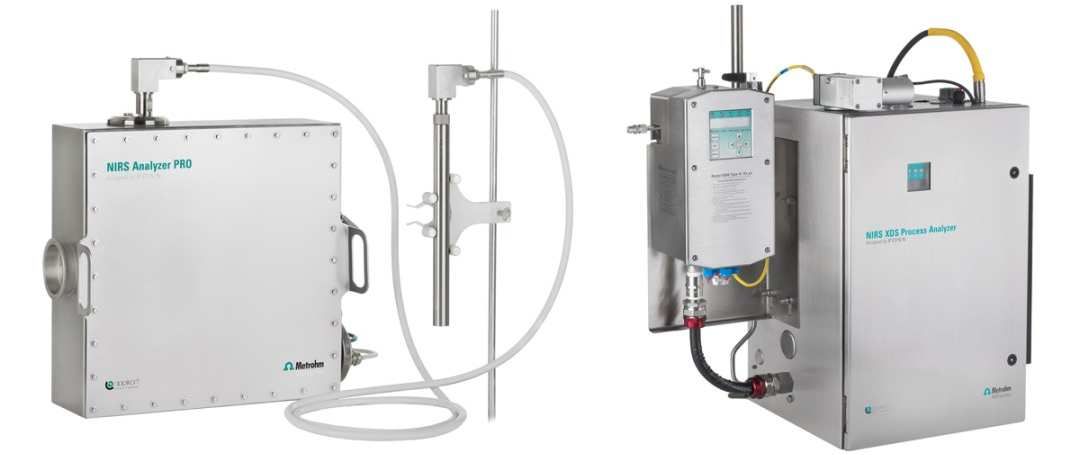 Metrohm Process Analytics offers two lines of near-infrared spectroscopic process analyzers: theNIRS Analyzer PROand theNIRS XDS Process Analyzer.