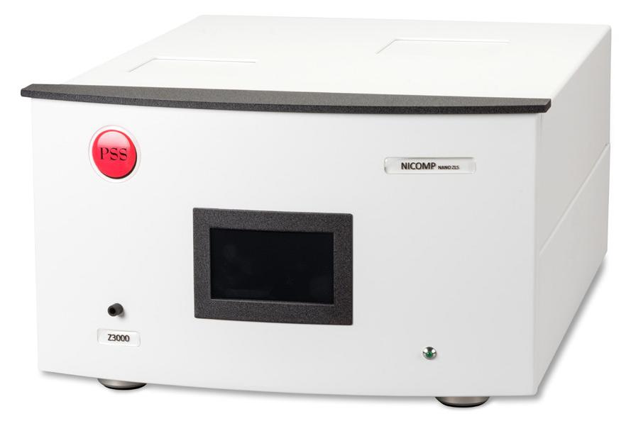 Nicomp Z3000 DLS system.