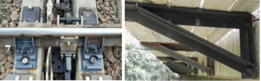 Graphene-based primers used in railway ancohrage.