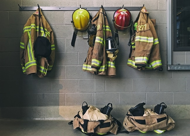 Nomax is used in protective clothing e.g. firefighters uniform Image Credit: ShutterStock: mat277