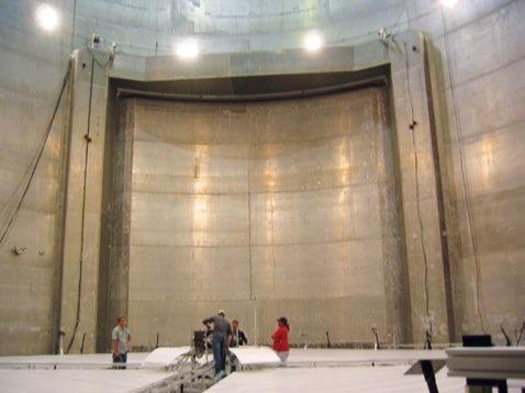Vacuum chamber facility