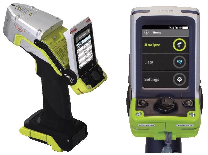 The Niton XL5 Plus Handheld XRF Analyzer