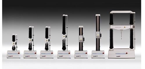 Materials parameters can be performed on a range of instruments of differing load capacity.