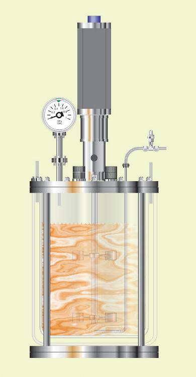 Typical benchtop bioreactor.