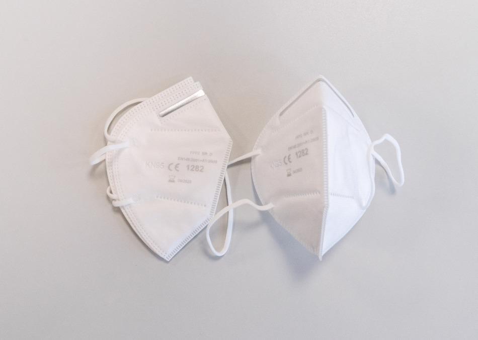 FFP 2 protective masks.