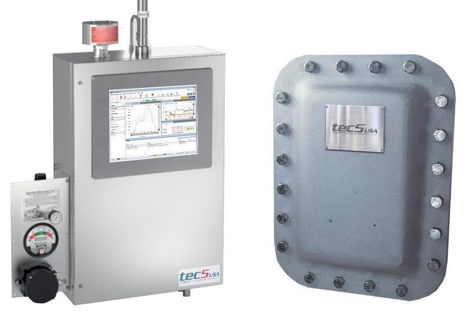 Process Raman Spectrometer System.