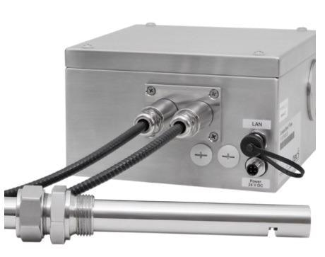 tec5USA CNIRS in a stainless-steel enclosure.