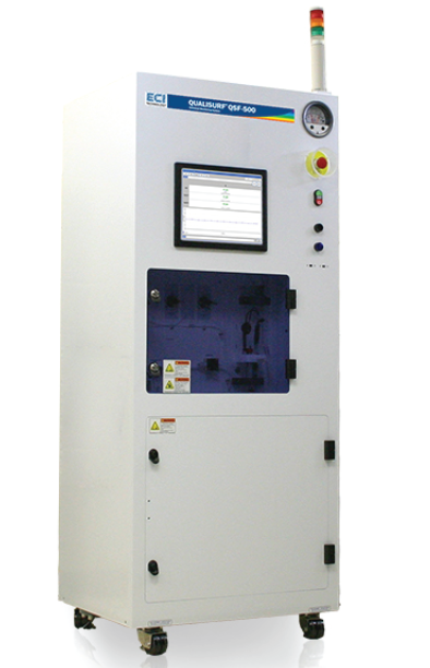QUALISURF®QSF-500 wet process chemicalmonitoring system.
