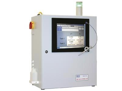 Quali-Stream inline bath analyzer used in this work for controlling electroless nickel baths