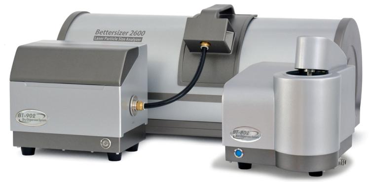 Bettersizer 2600 laser particle size analyzer.