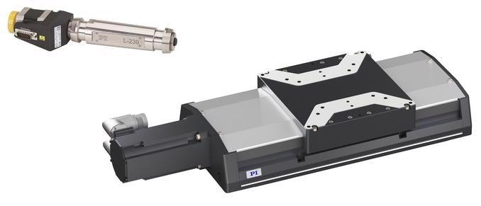 Examples of Linear Motion Stages and Precision Actuators.