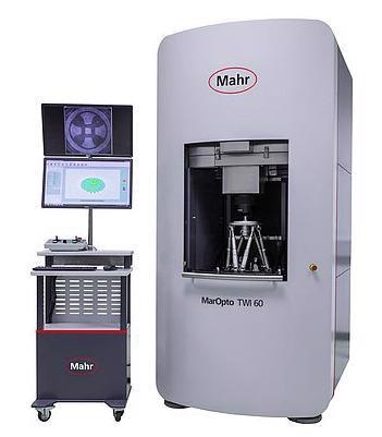 Fast Metrology: It only takes 20 to 30 seconds for the MarOpto TWI 60 to measure the entire surface of an aspheric optic.