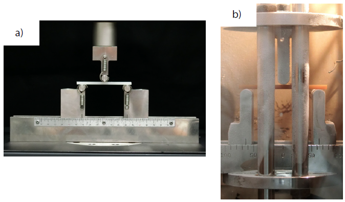 Condition of Test (a: Room Temperature, b: In Thermostatic Chamber).