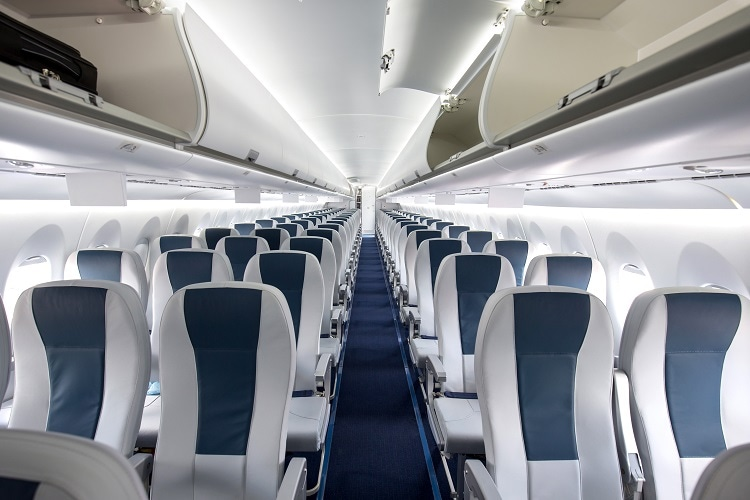 PPSu can be used for Aircraft Cabin Interiors. Image Credit: Ryan Fletcher/Shutterstock