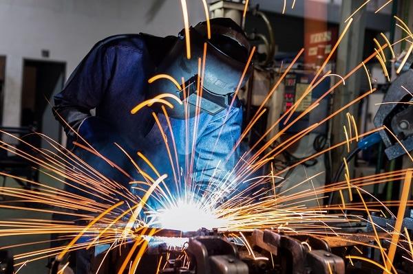 Industrial Welding Process