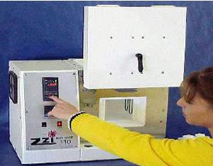 The Zircar Zirconia Hotspot 100 Laboratory furnace.