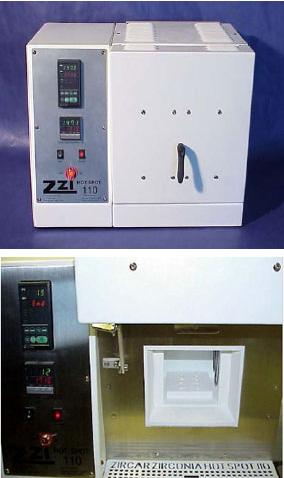 Construction of The Zircar Zirconia Hotspot 110 Laboratory furnace.